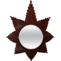 1980's Starburst Mirror