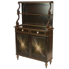 Regency Revival Bookcase Secretaire
