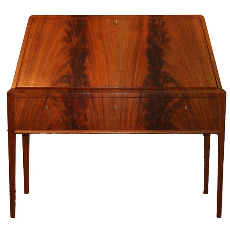 stunning scandanvian modern secretaire desk for sale at. Black Bedroom Furniture Sets. Home Design Ideas