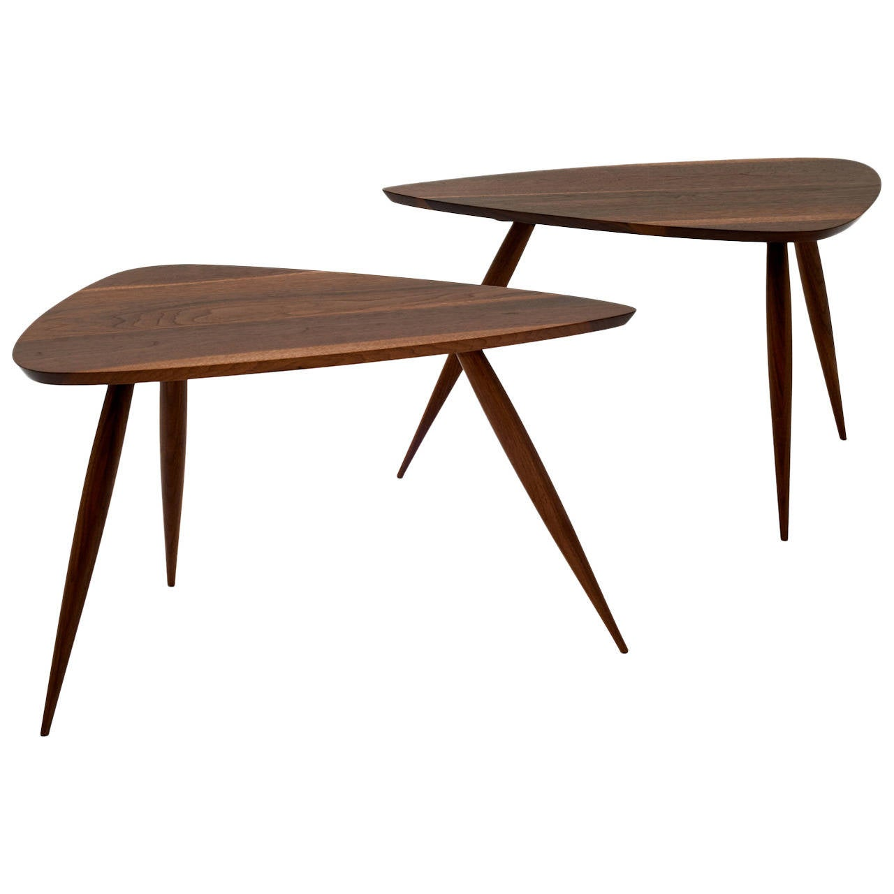 Pair of Occasional Tables by Phillip Lloyd Powell For Sale