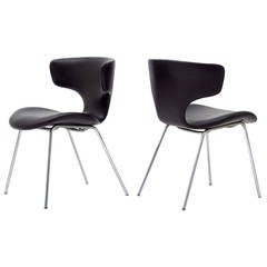 Pair of Isamu Kenmochi Chairs, Model S-3048m