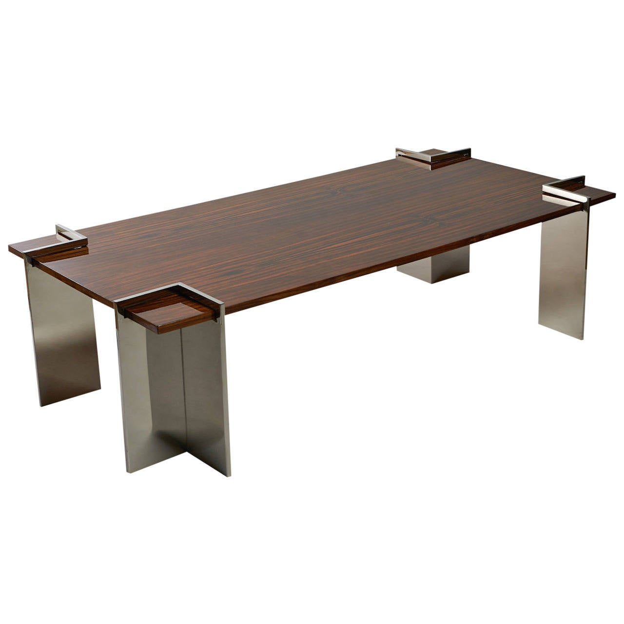 Leon Rosen Rosewood Coffee Table For Sale At 1stdibs