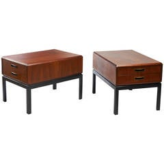 Pair of Midcentury Night Stands