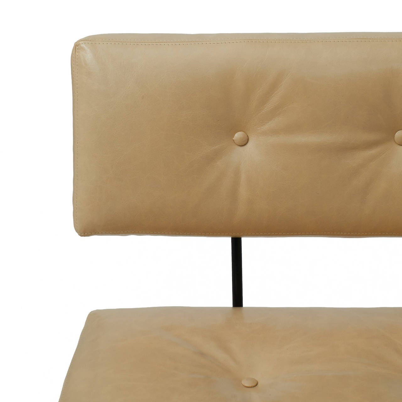 Leather Norman Cherner, Sofa For Sale