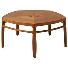 Edward Wormley, Pentagonal Coffee Table