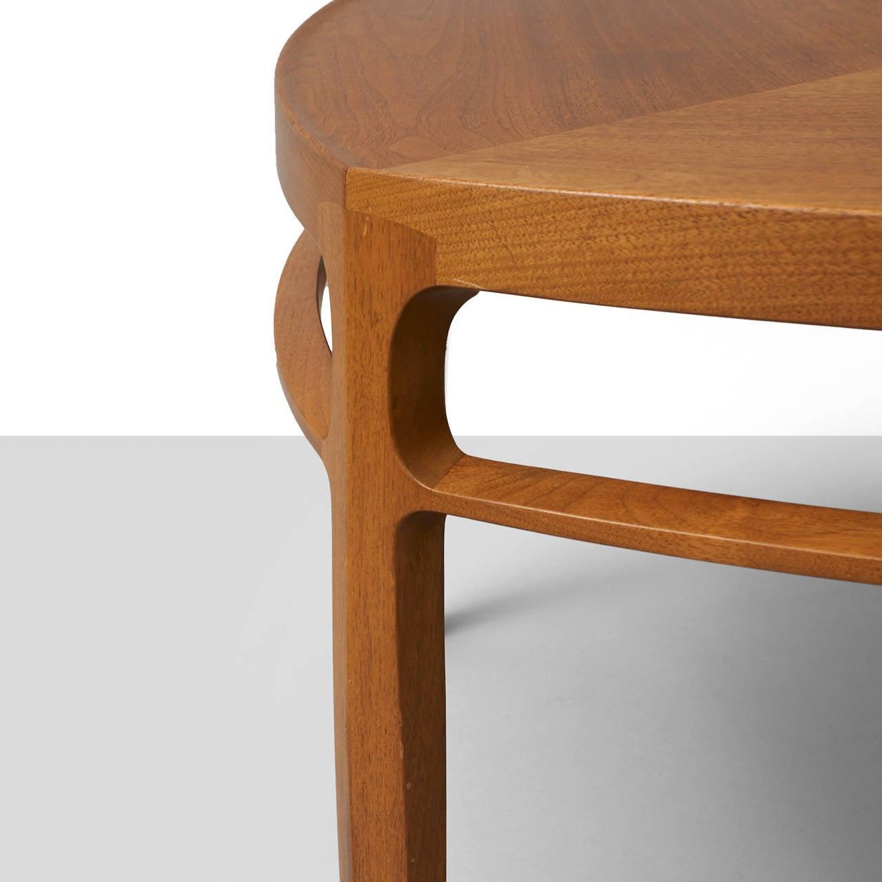 American Edward Wormley, Pentagonal Coffee Table For Sale