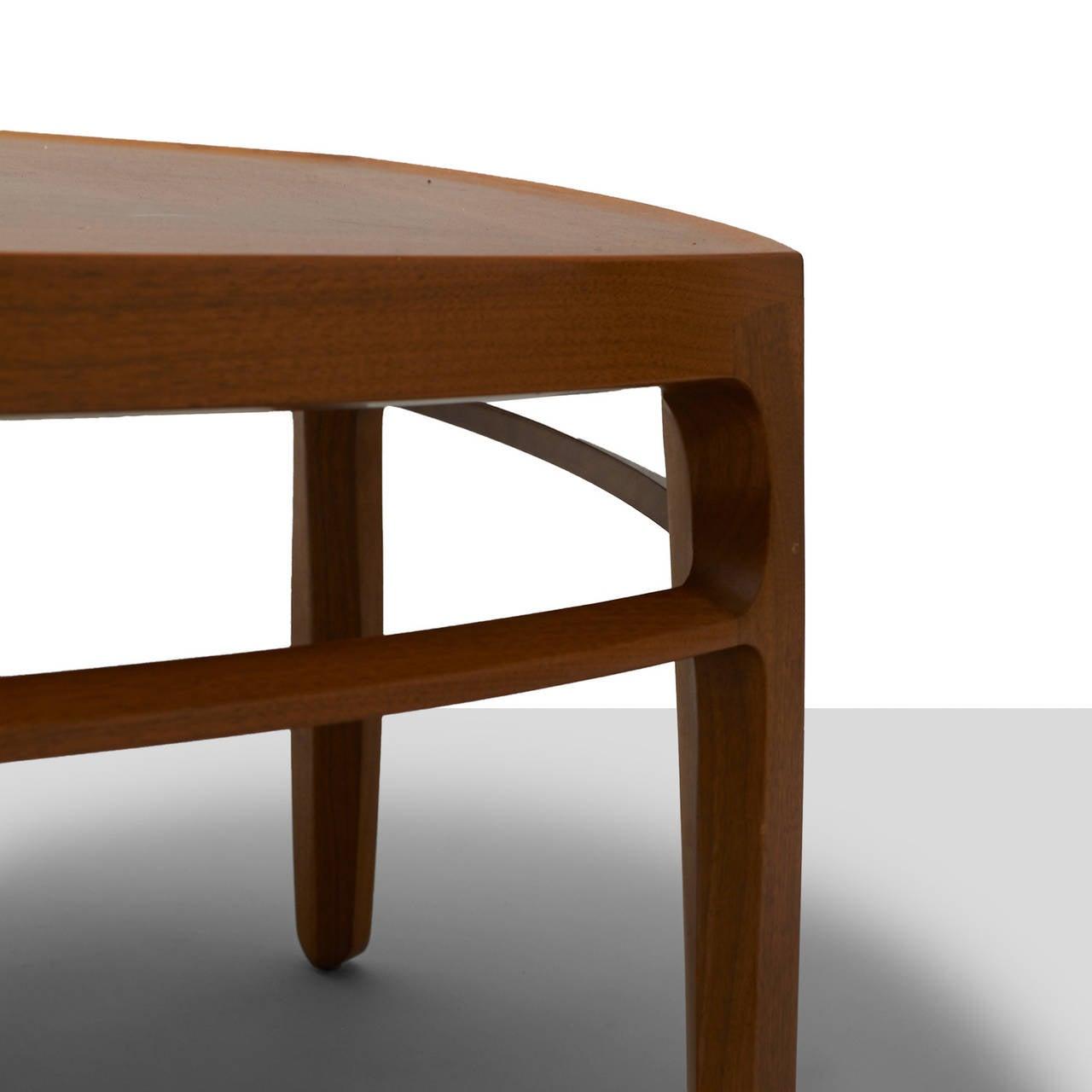 Mid-Century Modern Edward Wormley, Pentagonal Coffee Table For Sale