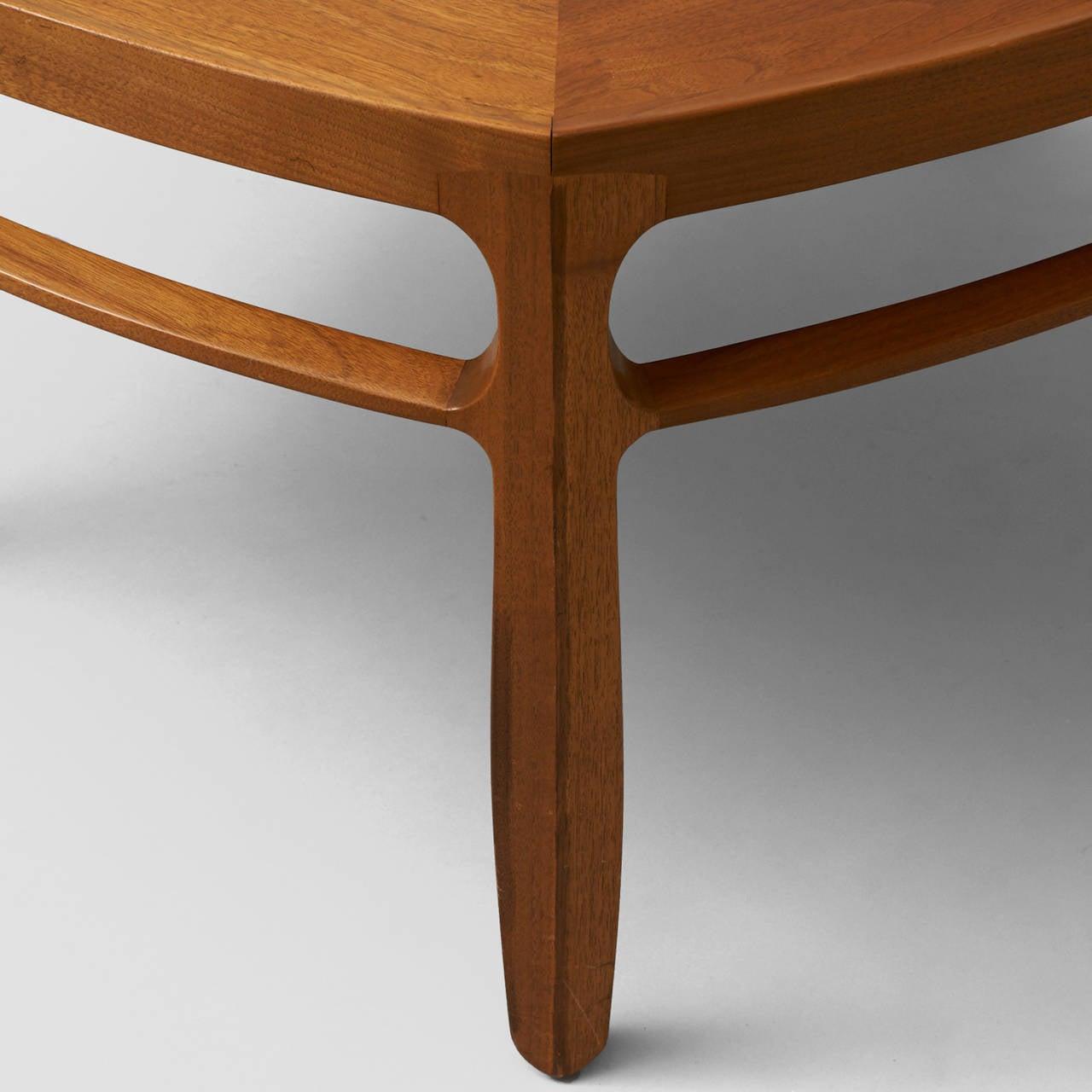 Mid-20th Century Edward Wormley, Pentagonal Coffee Table For Sale