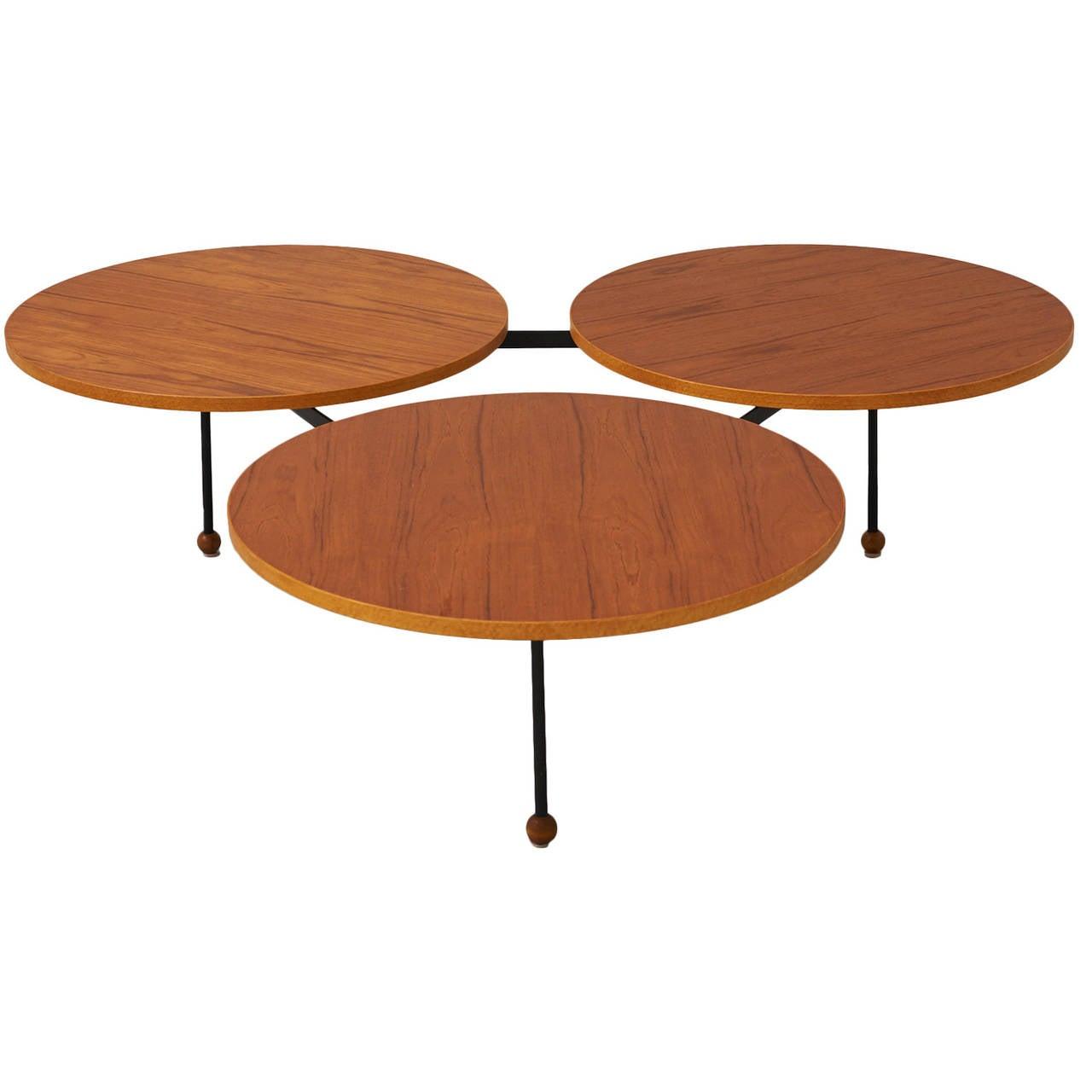 Greta grossman saucer table for sale at 1stdibs greta grossman saucer table 1 geotapseo Gallery