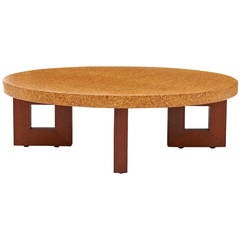 Paul Frankl Cork Coffee Table