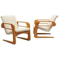 Pair of K.E.M. Weber Airline Chairs