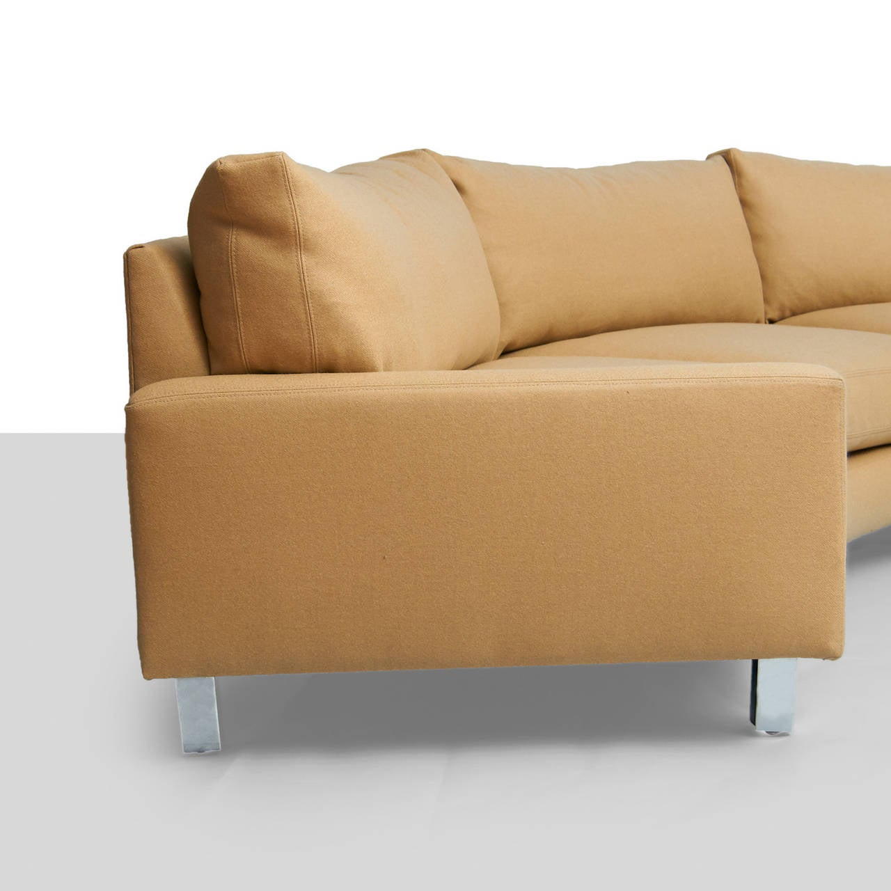 Milo Baughman Sectional Sofa For Sale At 1stdibs