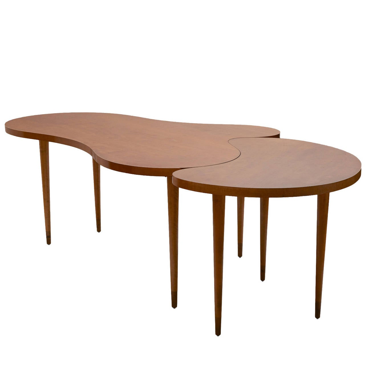 edmond spence two part maple dining table at 1stdibs. Black Bedroom Furniture Sets. Home Design Ideas