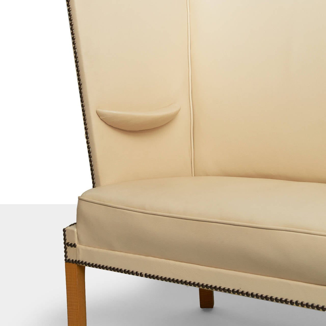 Leather Frits Henningsen Settee For Sale