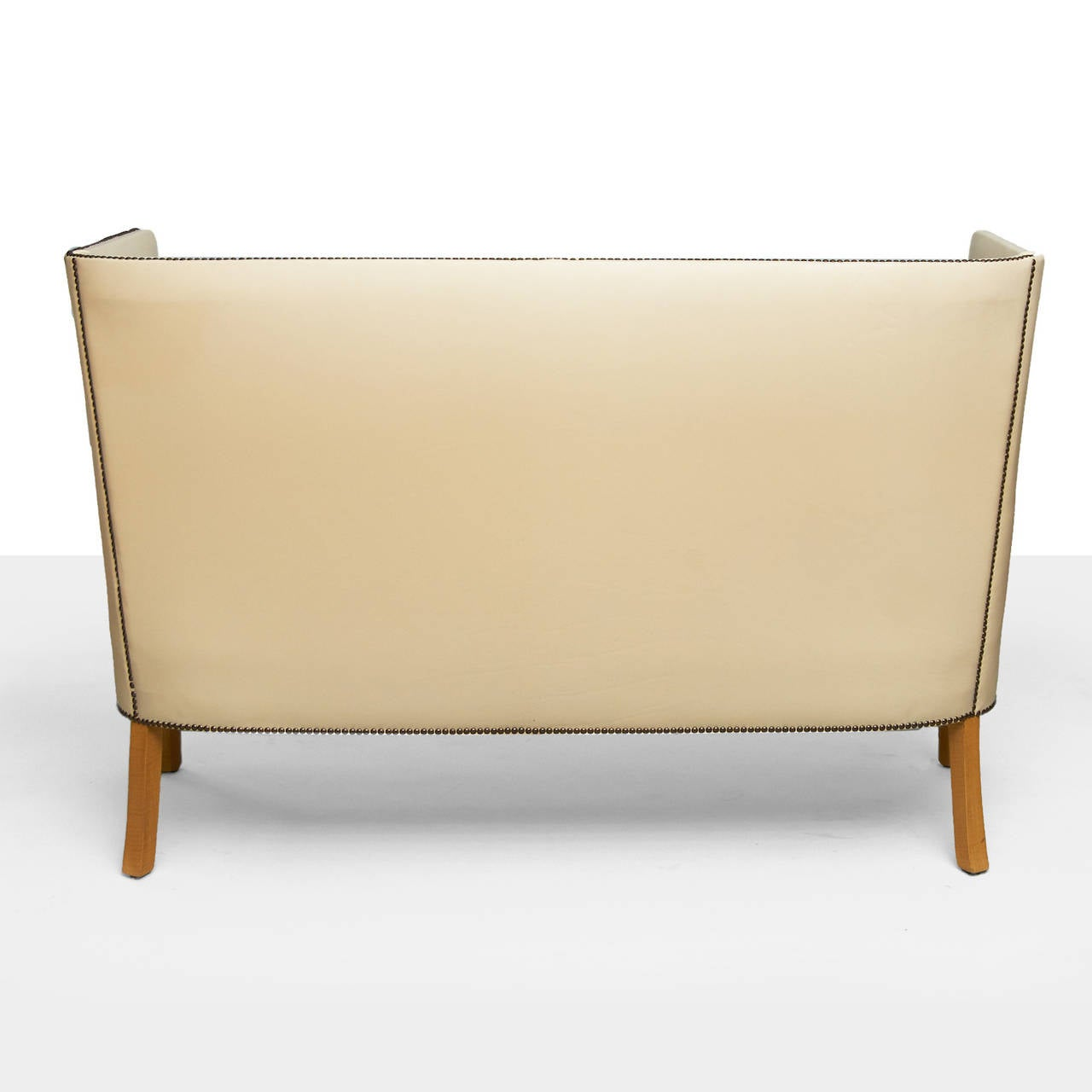Frits Henningsen Settee In Excellent Condition For Sale In San Francisco, CA