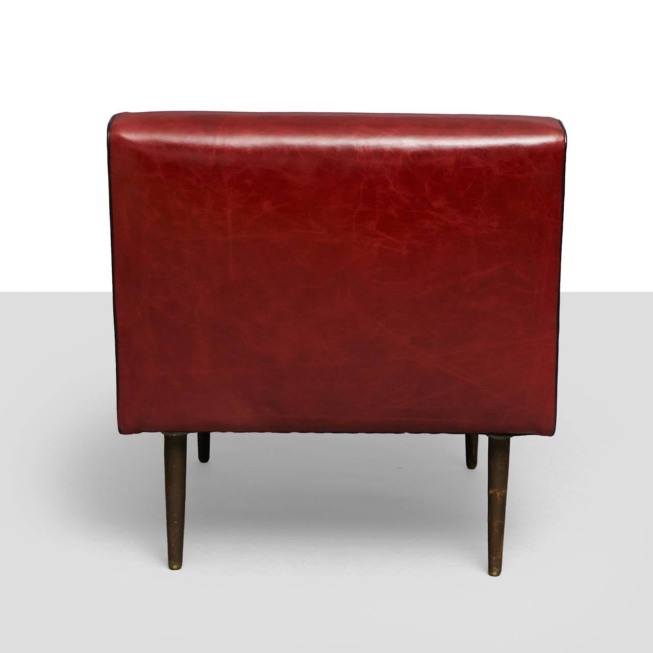 Edward Wormley Channel Back Chairs, Model No. 4827 In Excellent Condition For Sale In San Francisco, CA