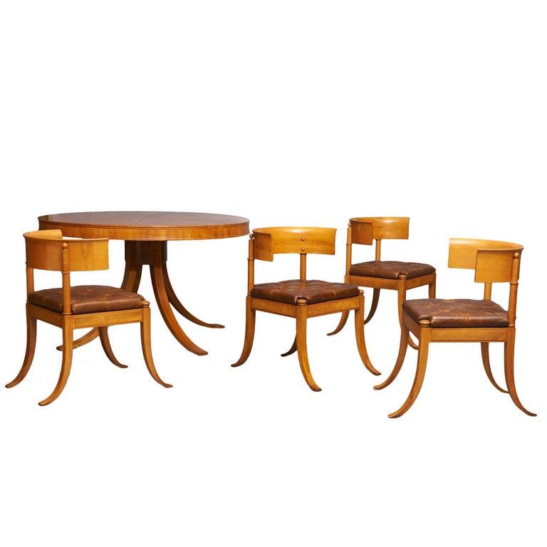 Kaj Gottlob Dining Set For Sale