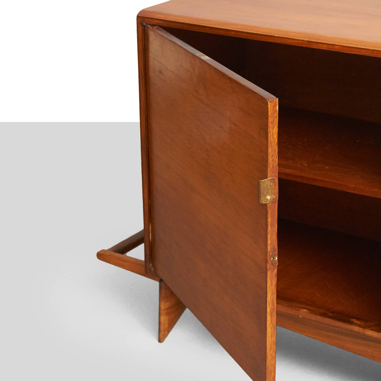 Mid-20th Century Carlo Hauner and Martin Eisler Credenza For Sale