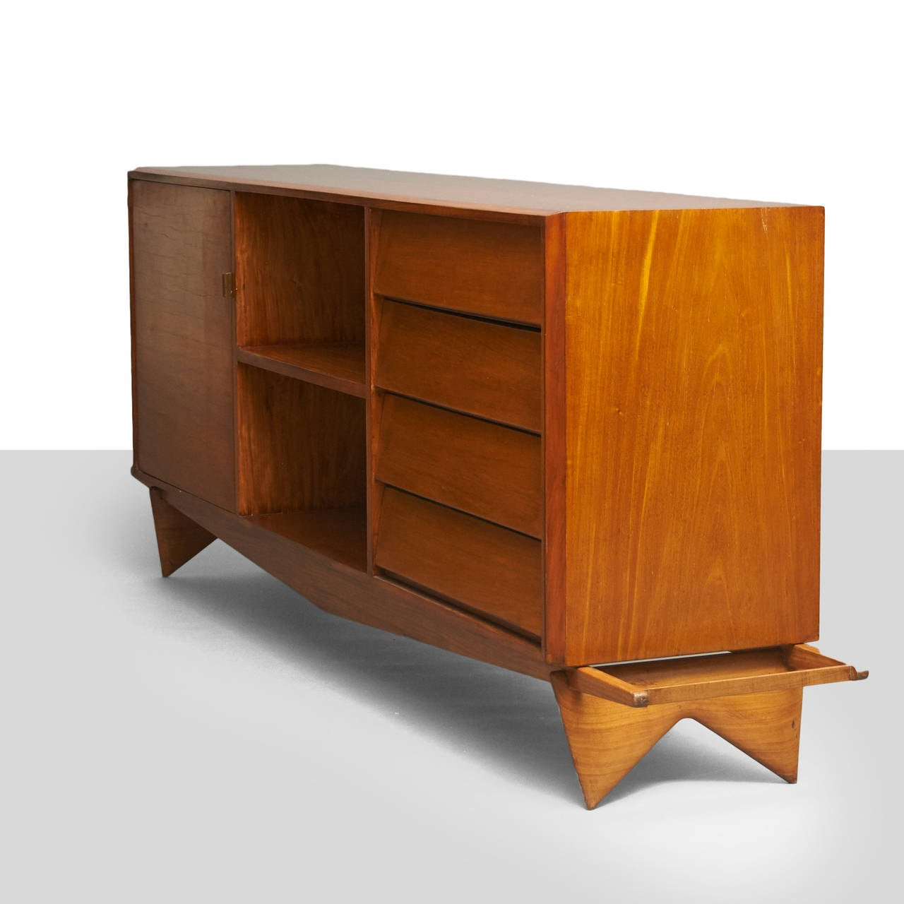 Carlo Hauner And Martin Eisler Credenza For Sale At 1stdibs