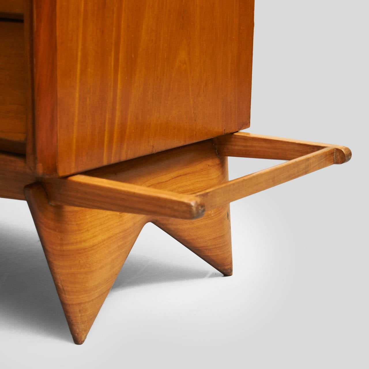 Wood Carlo Hauner and Martin Eisler Credenza For Sale