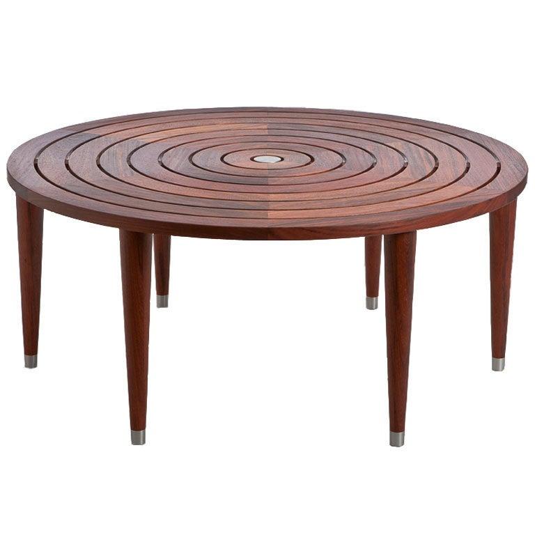 Target Coffee Table, Indoor/Outdoor At 1stdibs