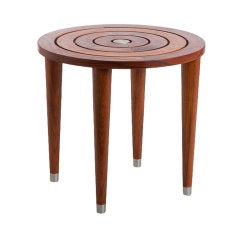 Matt Stoich - Target End Table, Indoor/Outdoor