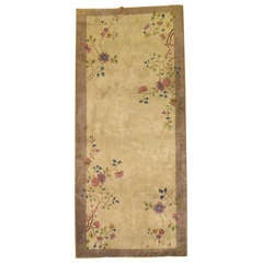 Chinese Art Deco Gallery Rug