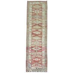 Vintage Anatolian Runner Rug