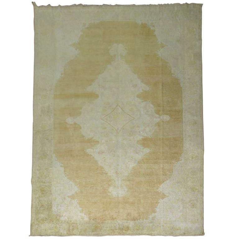 Antique Turkish Cotton Kayseri Rug