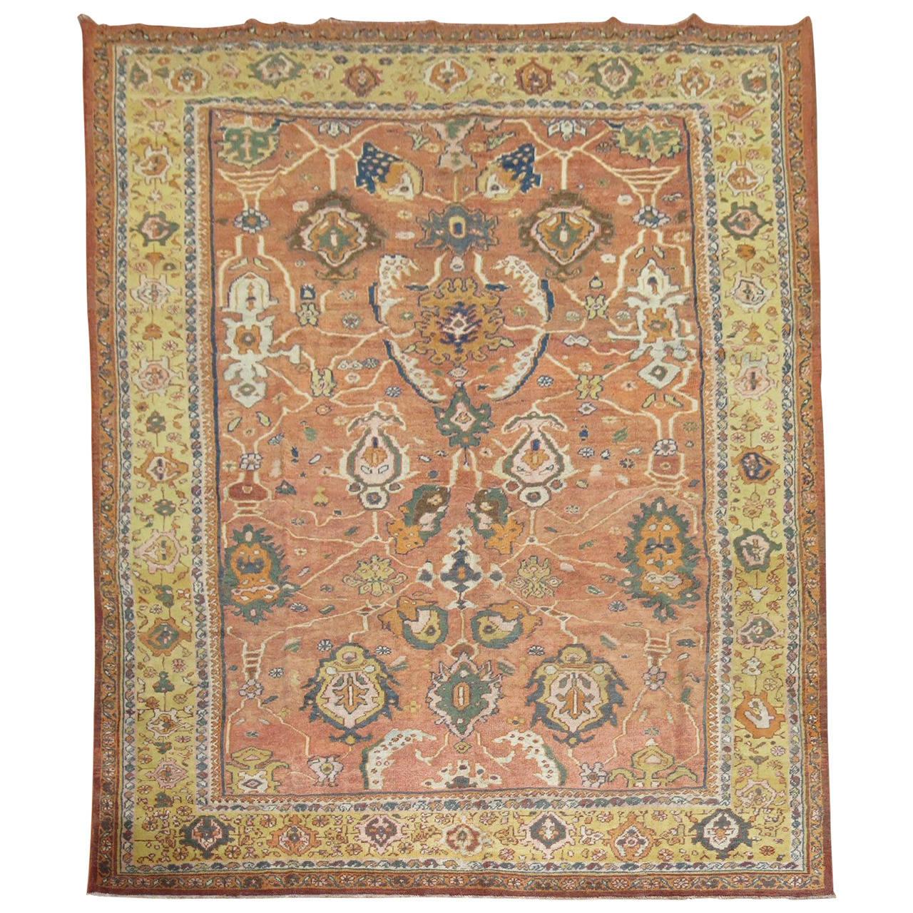 Persian Mahal Rug For Sale At 1stdibs