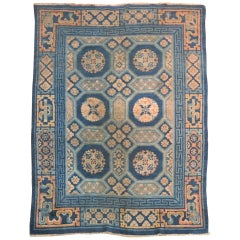 Antique Chinese Peking Small Rug