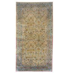 Persian Lavar Kerman Area Rug