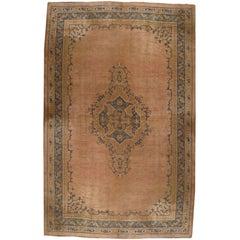 Palace Size Antique Oushak Carpet