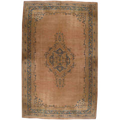 Palace Size Antique Oushak Carpet