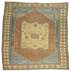 Antique Persian Bakshaish Rug