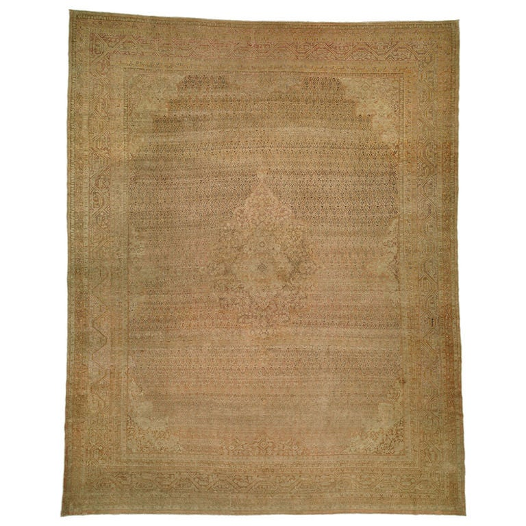 Antique Wool Turkish Sivas Rug For Sale At 1stdibs