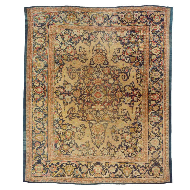 Sultanabad Carpet Attributed to Ziegler and Co