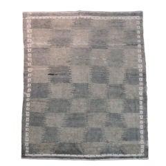 Mid century Turkish Tulu carpet