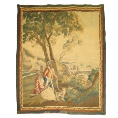 Antique French Tapestry, 18th century