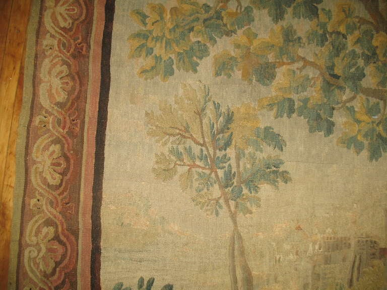 18th Century Antique French Tapestry At 1stdibs