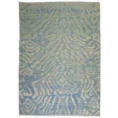 Old Wool Vintage Turkish Flat-Weave