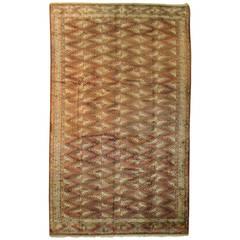 Vintage Turkoman Turkmen Carpet