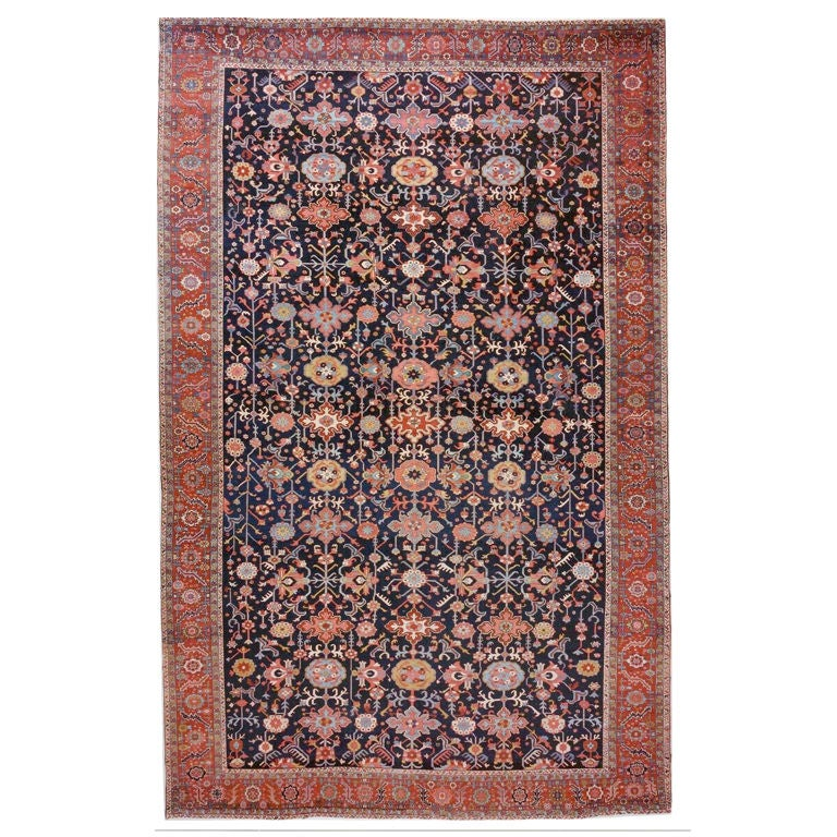 Persian Serapi Oversize Carpet