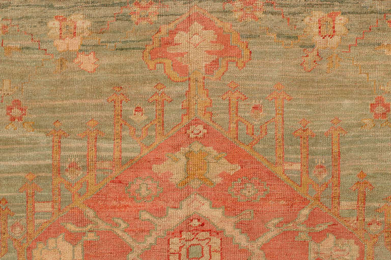 Angora Oushak Rug Featured In Wikipedia At 1stdibs
