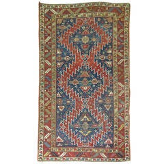 Antique Caucasian Karabagh Rug, circa 1900