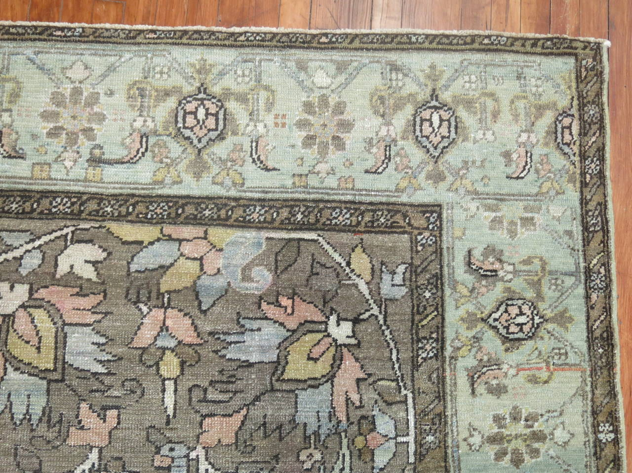 20th Century All-Over Antique Persian Heriz Carpet, circa 1920 For Sale