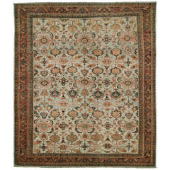 Antique Persian Mahal Sultanabad Rug