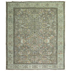 Antique Persian Heriz Carpet, circa 1920