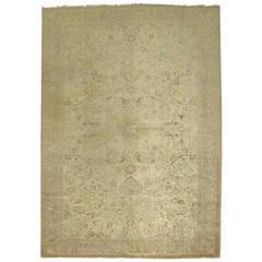 Pale Turkish Sivas Carpet
