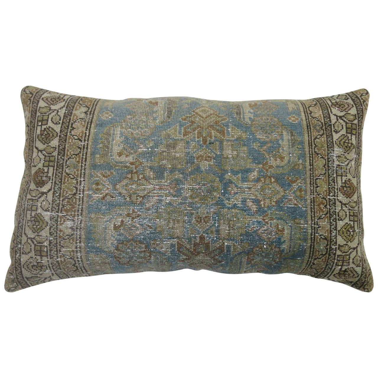 Persian Malayer Rug Floor Pillow at 1stdibs
